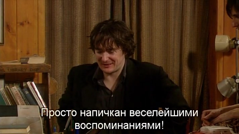 Книжный Магазин Блэка | Black Books (TV Series 2000–2004) S03 • E03 - Moo-Ma and Moo-Pa - Eng Rus Sub (360p)