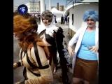Косплееры и гики из разных стран мира на два дня заполонили петербургский музей стрит-арта