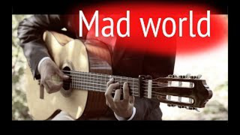 Gary Jules - Mad World⎪Fingerstyle guitar TABS