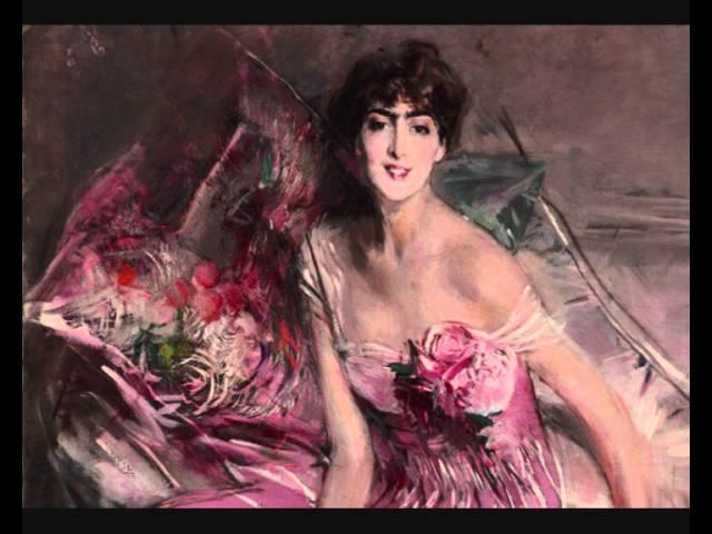 Arturo Toscanini Canto di Mignon 1889