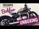 TRIUMPH Bobber | Unboxing Walkaround Soundcheck