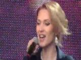 Аида Николайчук -поёт песню Кайли Миноуг 03.07.2013