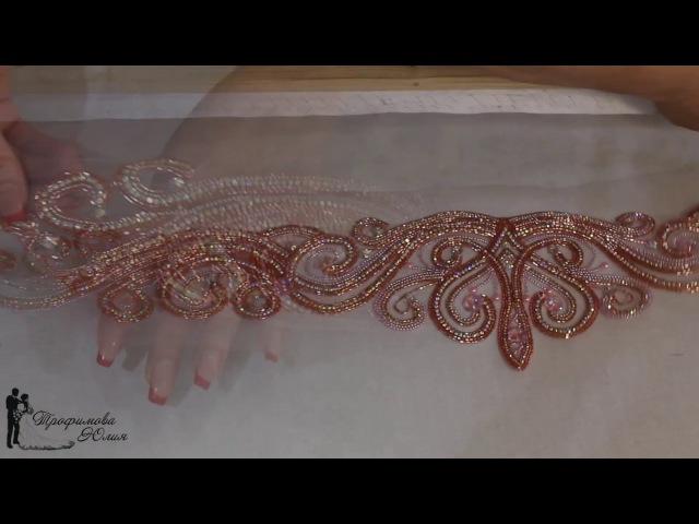 Люневильская вышивка Платье для нашей Анечки