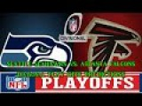 SEATTLE SEAHAWKS VS. ATLANTA FALCONS PREDICTIONS  #NFL DIVISIONAL PLAYOFFS  full game