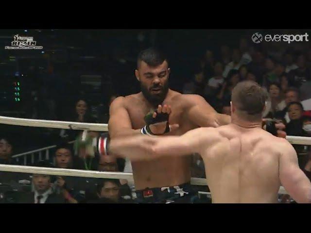 Mirko Cro Cop vs. Amir Aliakbari full fight HD / Mirko Filipović Rizin 4 / Мирко Кро Коп
