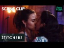Stitchers Season 3 Episode 9 Camsten's First Time Camanda Kiss Freeform
