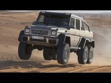 Mercedes-Benz G 63 AMG 6X6 - Test Drive