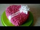 Вкусный,красивый кремовый торт СЕРДЦЕ cake decoration Украшаем торт кремом Рецепт торта