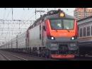 Электровоз ЭП20-054 со скорым поездом №143 Кисловодск - Москва