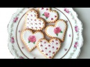 How To Decorate Rose Cookies For Valentine's Day