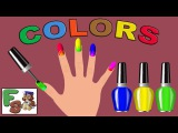 Play Videos Colours to Kids. Children.Toddlers. BabyLearn Colors with Surprise Nail Art DesignsFS