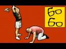 Как бить рубящий удар ногой сверху axe kick удар нога топор урок кикбоксинга Юрия Караваева rfr bnm he zobb̆ elfh yju