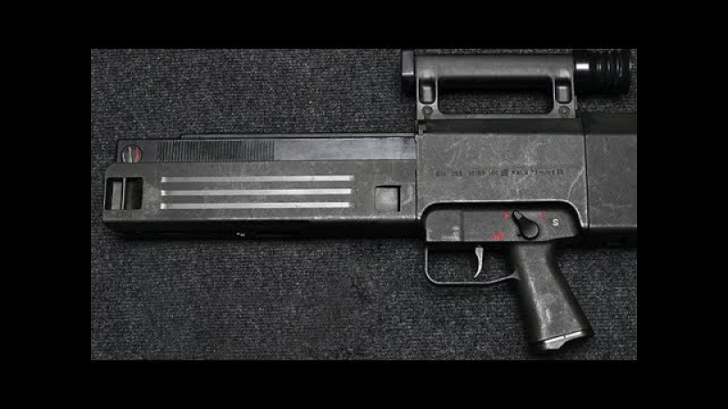 Самые необычные виды оружия - Автомат HK G11 cfvst ytj,sxyst dbls jhe;bz - fdnjvfn hk g11