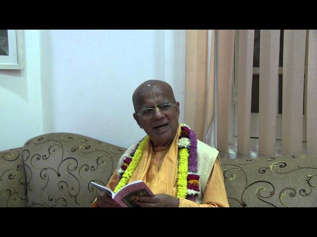 H.H. Gopal Krishna Goswami, Darshan, Vrindavan, 25.11.2015