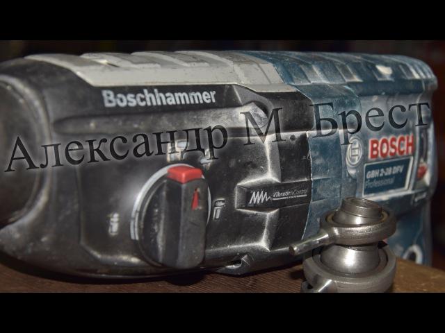Как починить Bosch GBH 2 28 Ремонт перфоратора Как обслужить Бош Ремонт в Бресте