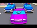Погоня! Мультфильмы для детей Полицейские Машины Приключения на дороге - Полиция против Машинок!
