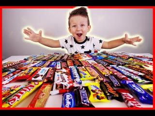 ✰100 СЛОЕВ 🍫ШОКОЛАДА🍫 100 Layers of Chocolate Challenge