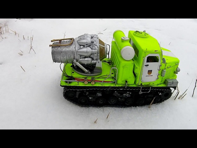 Машина газо-водяного пожаротушения
