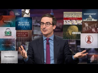 Watch John Oliver does Hilarious Introductions (Compilation)