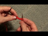 Как связать полый шнур (I-CORD)