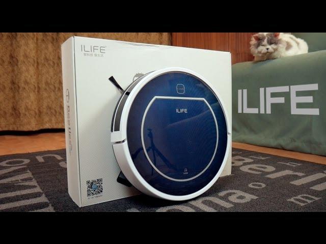 Лучший робот пылесос цена качество Отзыв и обзор ILIFE V7 V7s