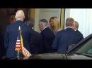 President Trump, Melania Trump, Ivanka Trump, Rex Tillerson Arrives at Hotel Atlantic Festsäle