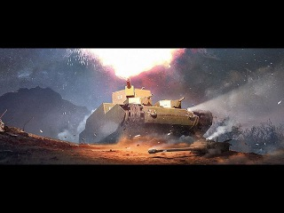 World of Tanks. Бой на японском тяже O-I. Карта - Тундра