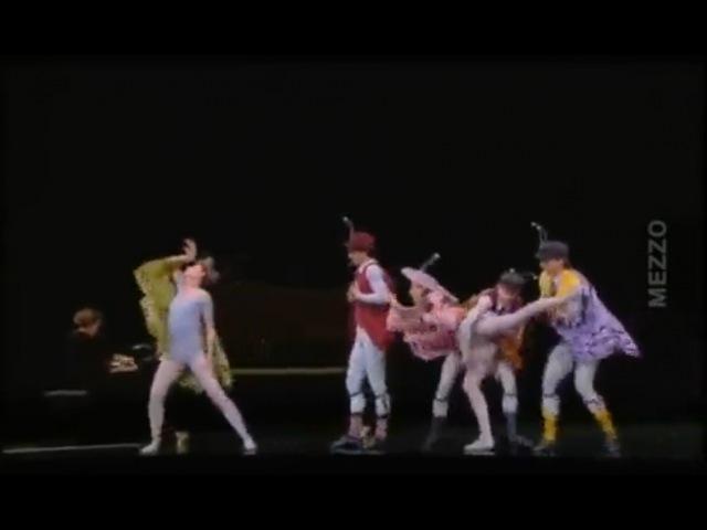 Одноактный балет Джерома Роббинса на музыку Фредерика Шопена - Концерт (The concert)