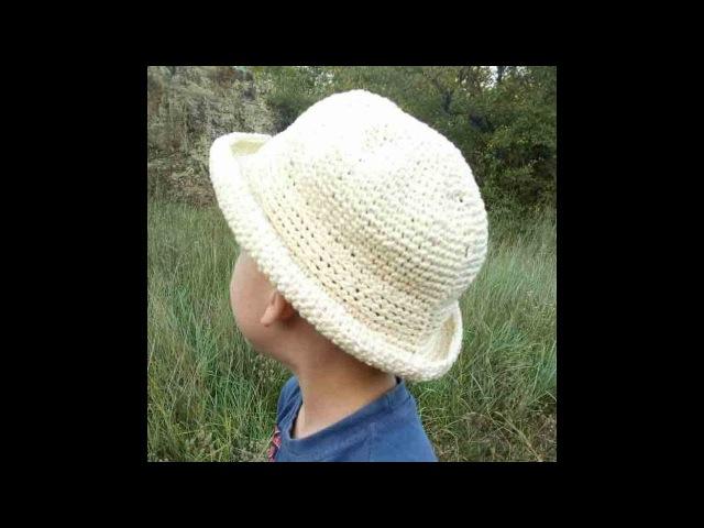 Летняя шляпка из рафии. Подробный МК