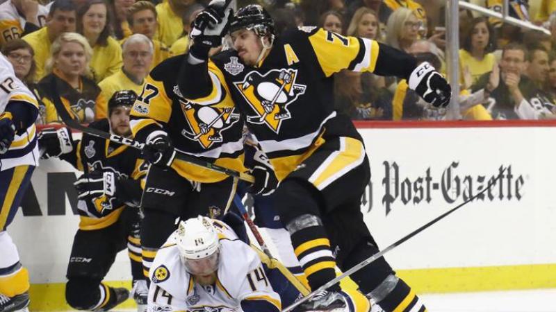 НХЛ 2016-2017 Плей-офф Финал. Матч 1 Питтсбург Пингвинз - Нэшвилл Предаторз 5-3 (29.05.2017)