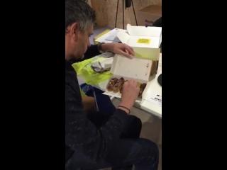 эклеры, Кристоф Адам, упаковка, доставка, Франция, Christophe Adam, vk.com/konditer48