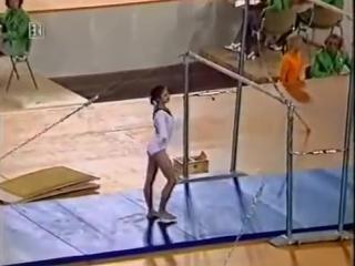Петля Ольги Корбут, ныне запрещенный элемент в спортивной гимнастике! ОИ, Мюнхен 1972