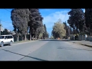 Сухум .Поездки по городу .Бзыбское шоссе.От учхоза до поворота .