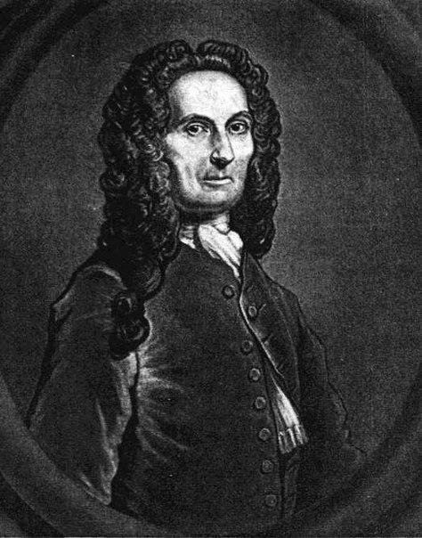 Английский математик Абрахам де Муавр в престарелом