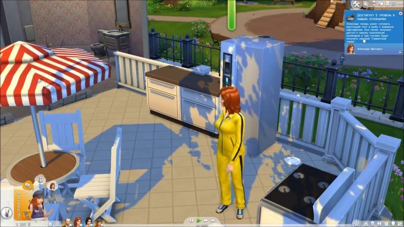 The Sims 4 Поиграем Семейка Митчелл _ 30 Люси в стране чудес