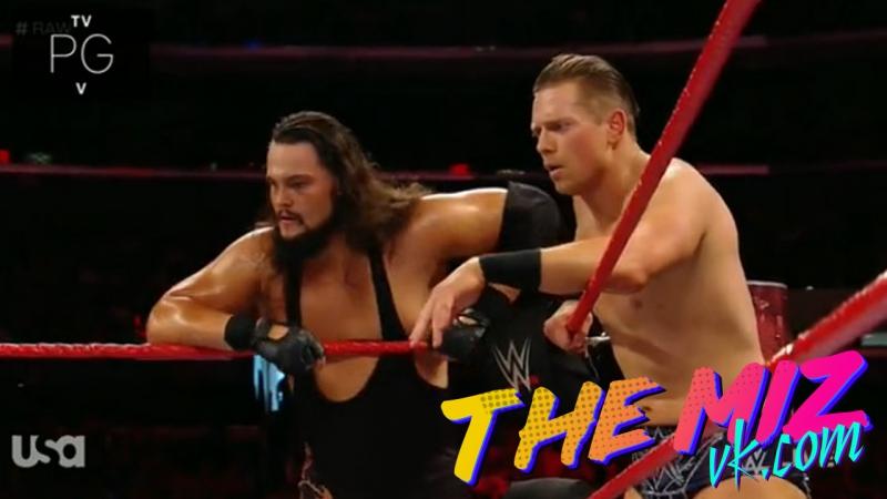[BMBA] Мизтураж против Хита Слейтера, Райно и Дина Эмброуза RAW 27.06.17