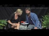 Шарлиз Терон на шоу «Между двумя папоротниками» с Заком Галифианакисом (Руссике Субтитры)