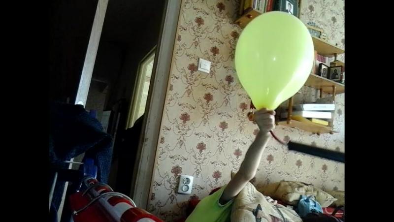 пытались взорвать шарик насосом