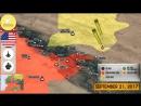 22 сентября 2017. Военная обстановка в Сирии. Силы США близки к освобождению Ракки от ИГИЛ.