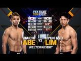Fight Night Japan Daichi Abe vs Hyun Gyu Lim