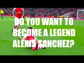 Do you want to become a legend, Alexis? Then stay.