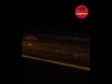 30 минут назад в Беслане по дороге в Аэропорт не далеко от мемориала, водитель на Гранте сбил нескольких баранов.