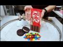 ICE CREAM ROLLS | KIT KAT CHOCOLATE Ice Cream / M M Ice Cream VS Oreo Ice Cream and Strawberry ICe