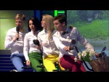 КВН Факультет журналистики - Песня о родных городах