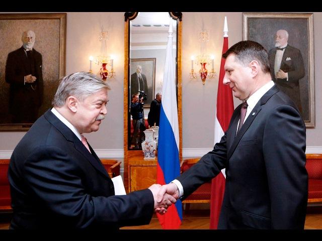 Krievijas ārkārtējā un pilnvarotā vēstnieka Jevgeņija Lukjanova akreditācija 07/02/2017