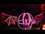 LUMOS танец с драконами (световое шоу)