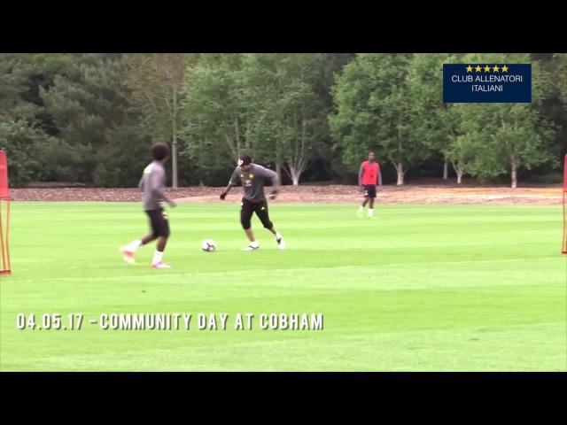 Chelsea | ANTONIO CONTE: tiri in porta vari modi