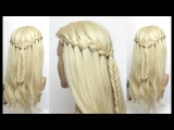 Beautiful Hair Style for Long Hair. Ladies Hairstyle  Tutorials 2017