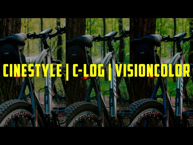 Cinestyle | C-LOG | VisionColor