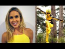 Power Rangers Interview with Anna Hutchison Jungle Fury Spartacus Cabin in the Woods